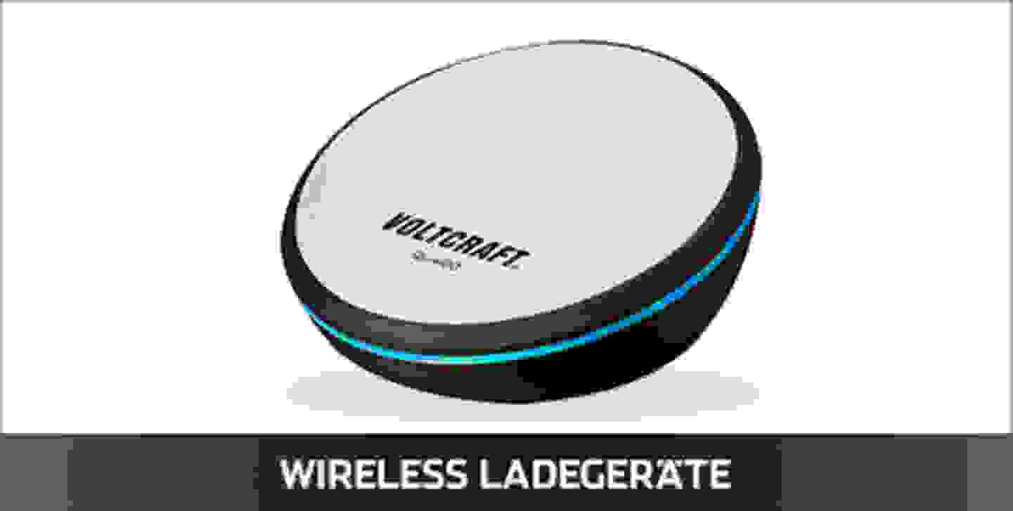 Voltcraft Wireless Ladegeräte