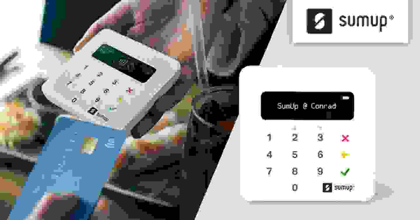 Sumup - Bieten Sie Ihren Kunden den besten Service - auch beim Bezahlen. Mehr erfahren »