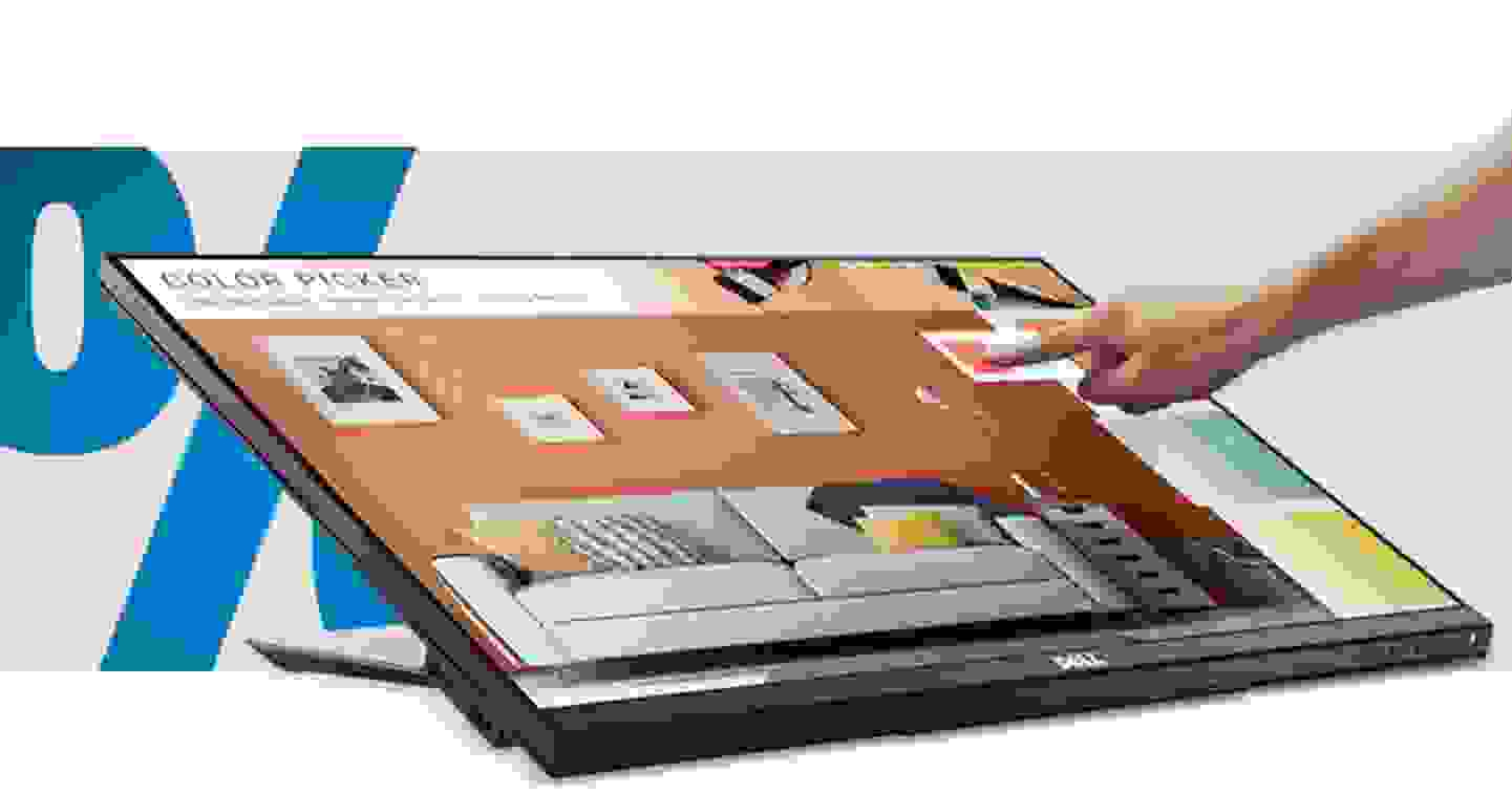 Dell - Touchscreen-Monitor EEK: A (A+++ - D) 61 cm (24 Zoll) 1920 x 1080 Pixel 16:9 6 ms VGA, DVI, DisplayPort, U »