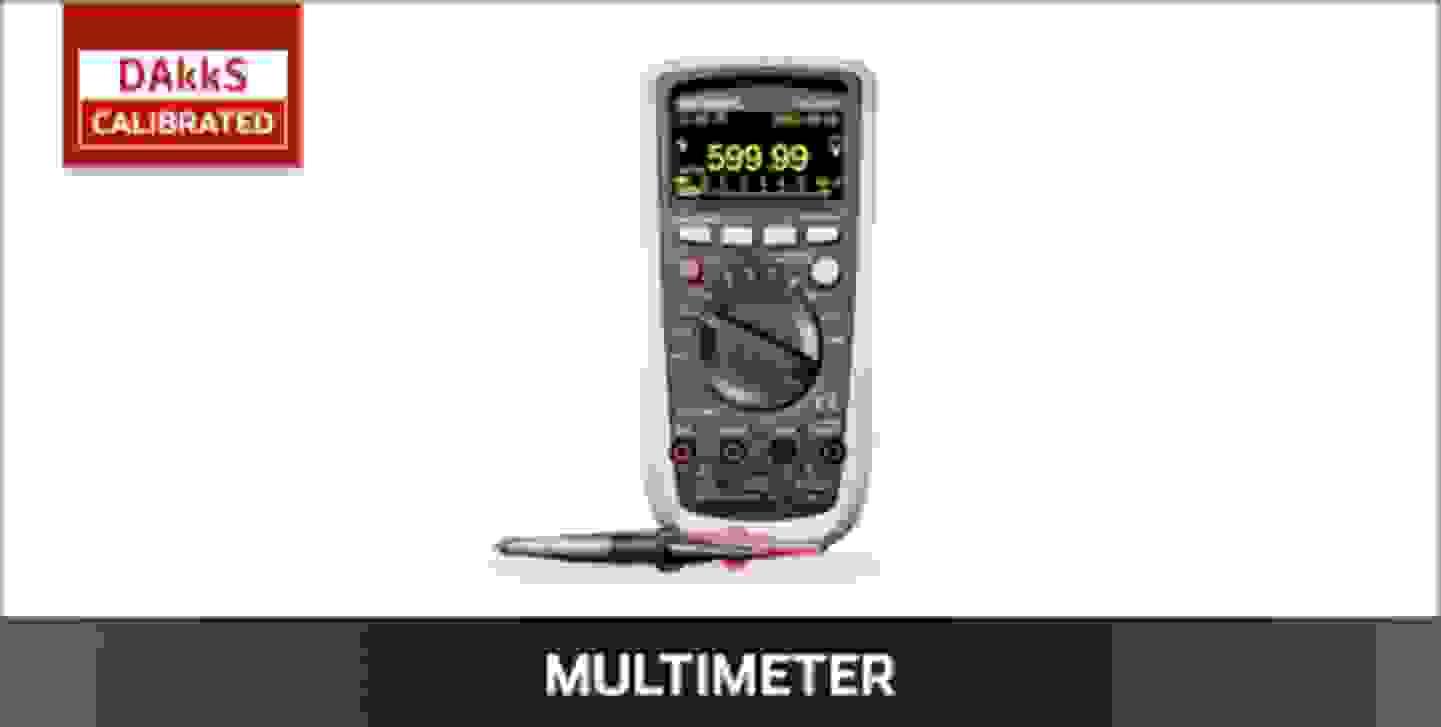 VOLTCRAFT Multimeter DAkkS kalibriert