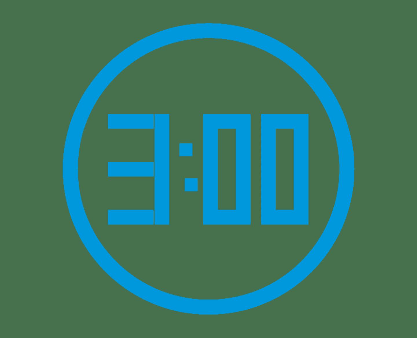 Zeitumstellung - Funkwanduhr digitale Anzeige