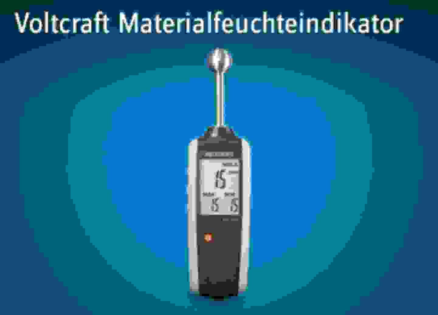 Voltcraft Materialfeuchteindikator