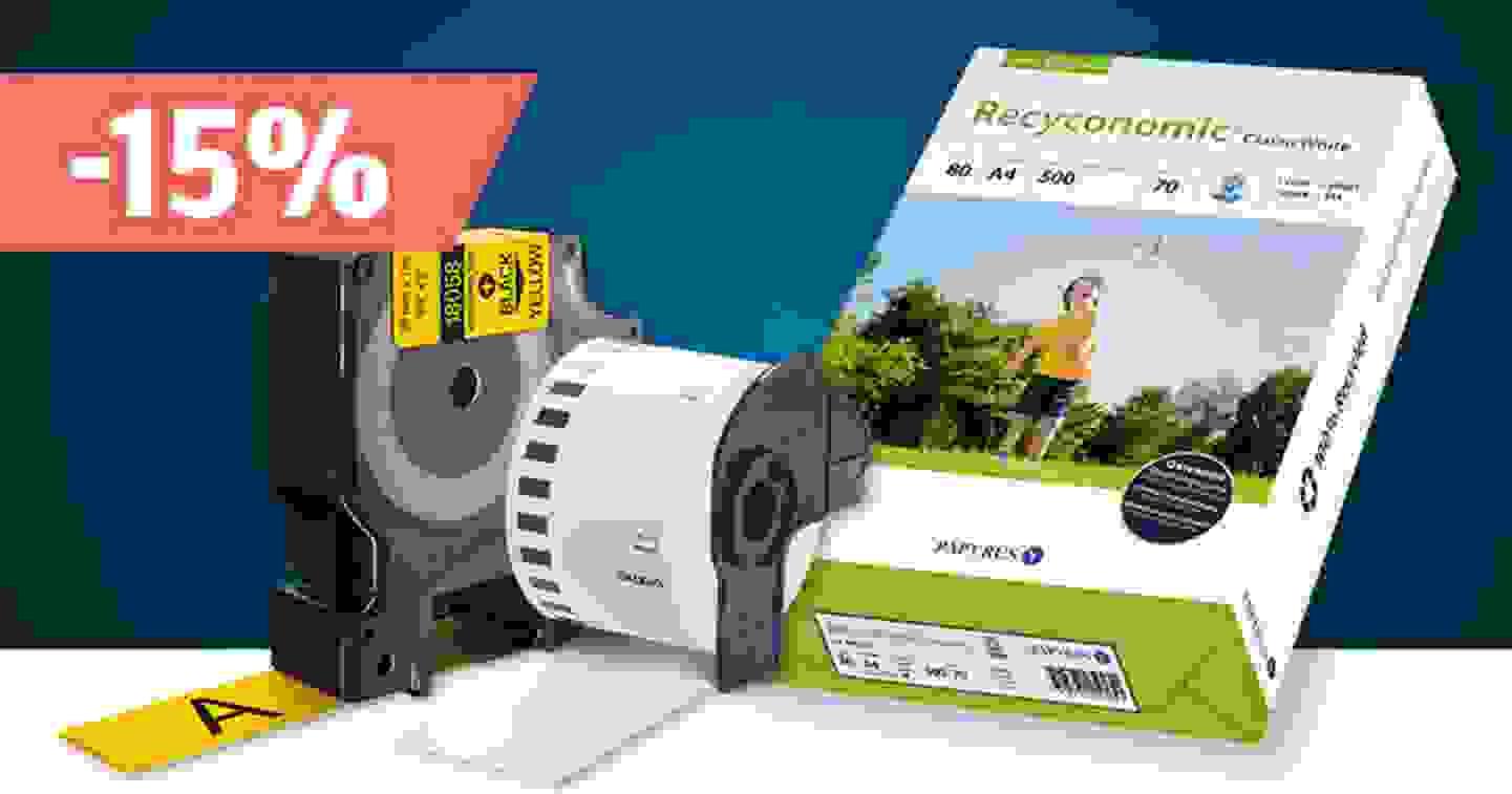 Papiere, Folien und Etiketten – Sortiment jetzt entdecken und profitieren »