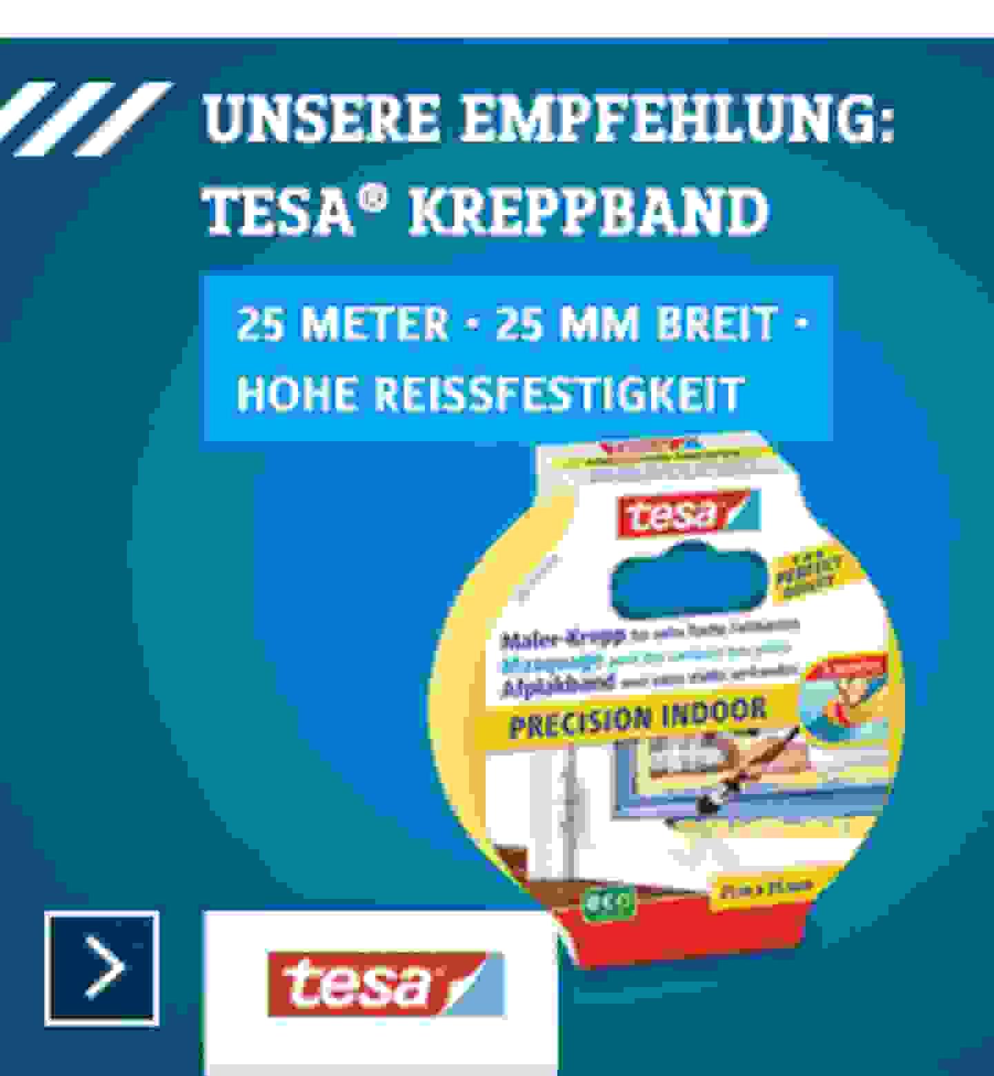 Kreppband - Tesa