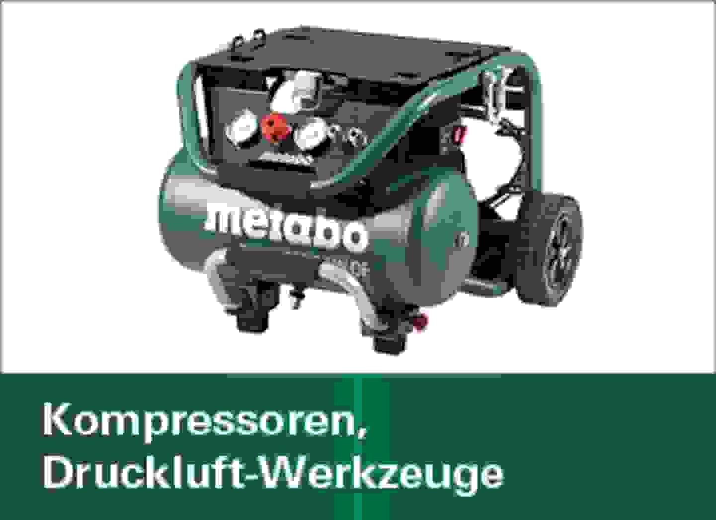Kompressoren, Druckluft-Werkzeuge