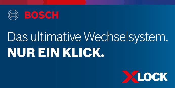 BOSCH Professional X-LOCK Wechselsystem