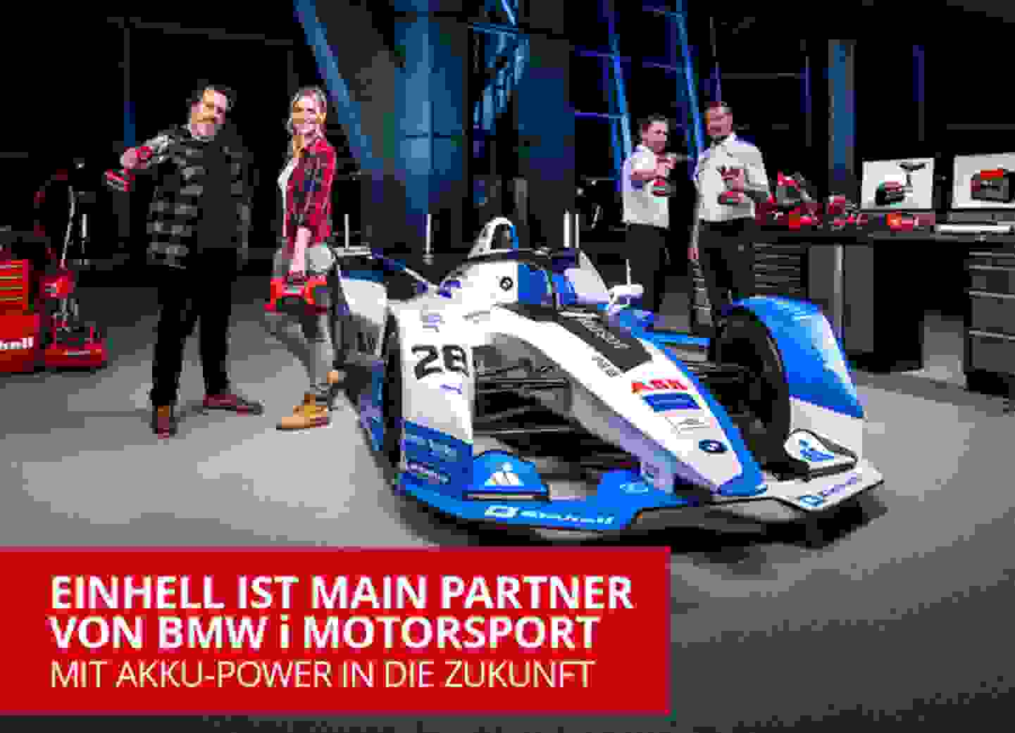 Main Partner von BMW i Motorsport