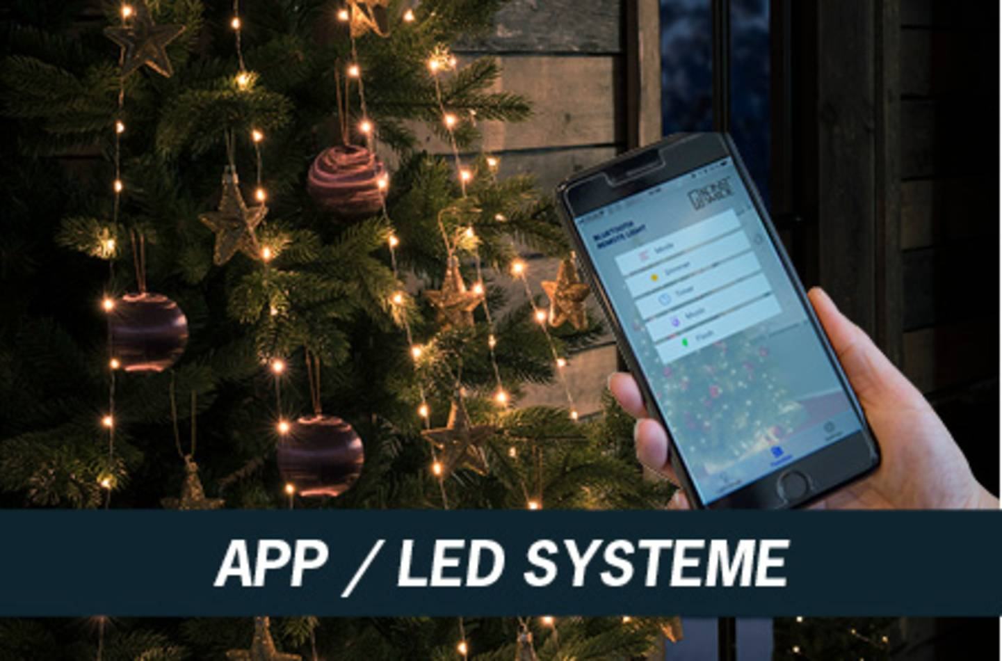 App / LED Systeme