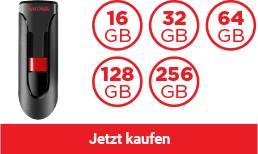 SanDisk® Cruzer Glide USB Flash-Laufwerk