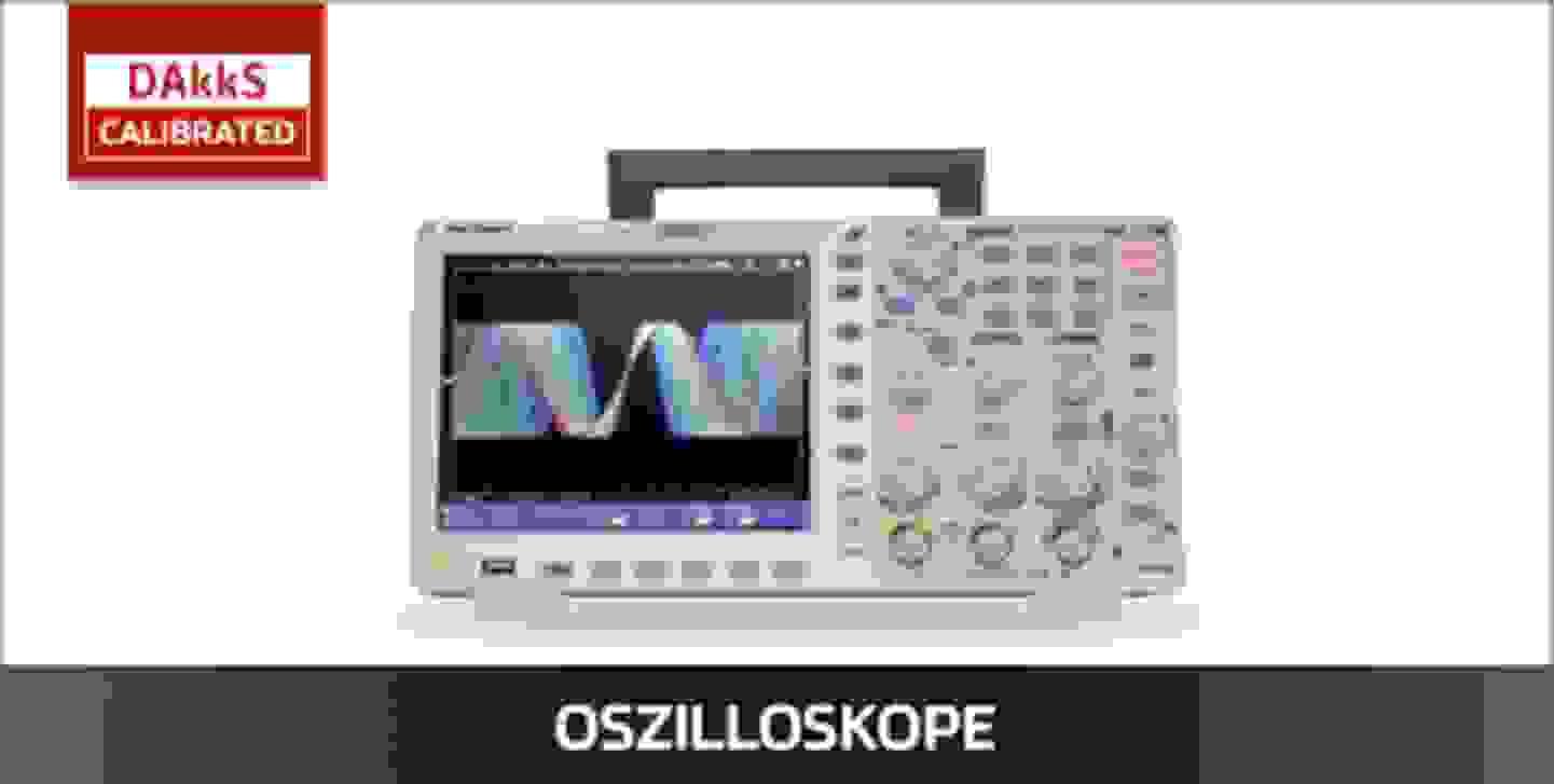 VOLTCRAFT Oszilloskope DAkkS kalibriert
