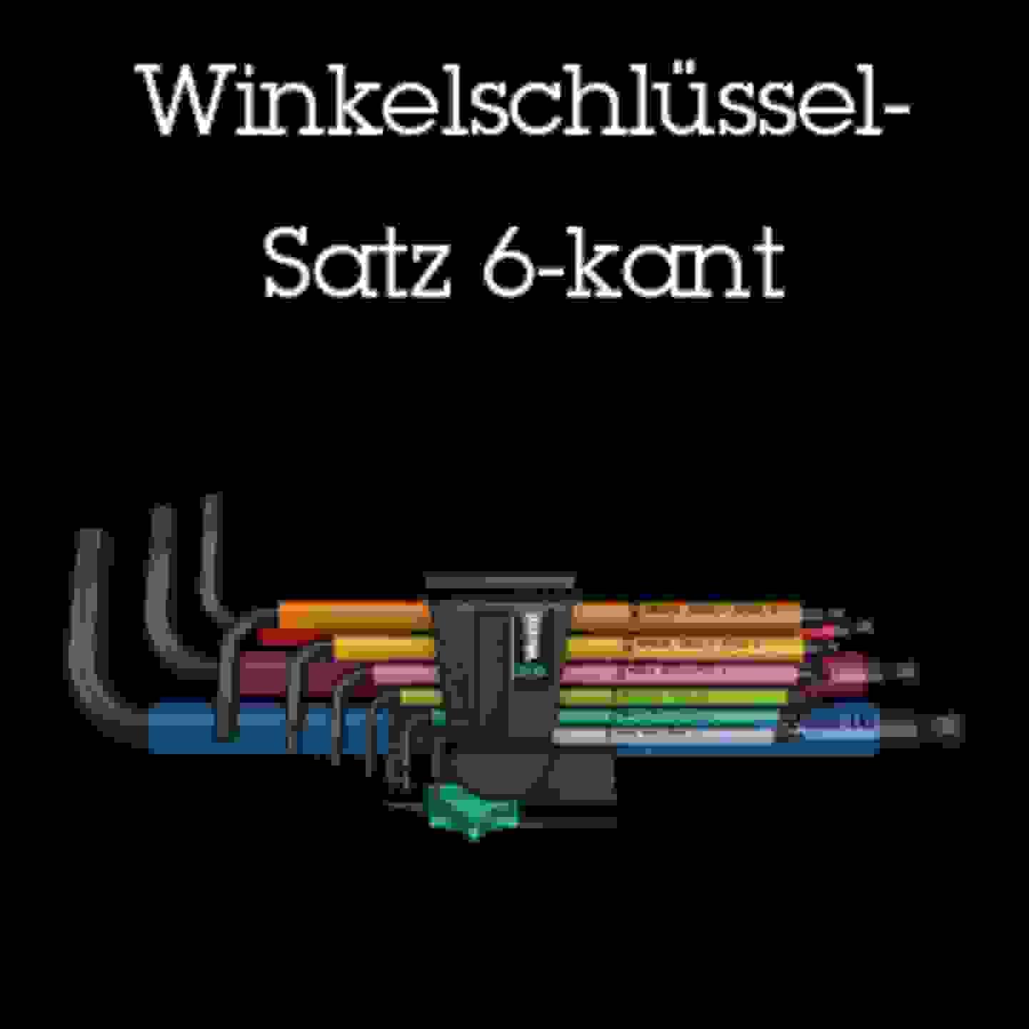 Winkelschlüssel-Satz 6-kant