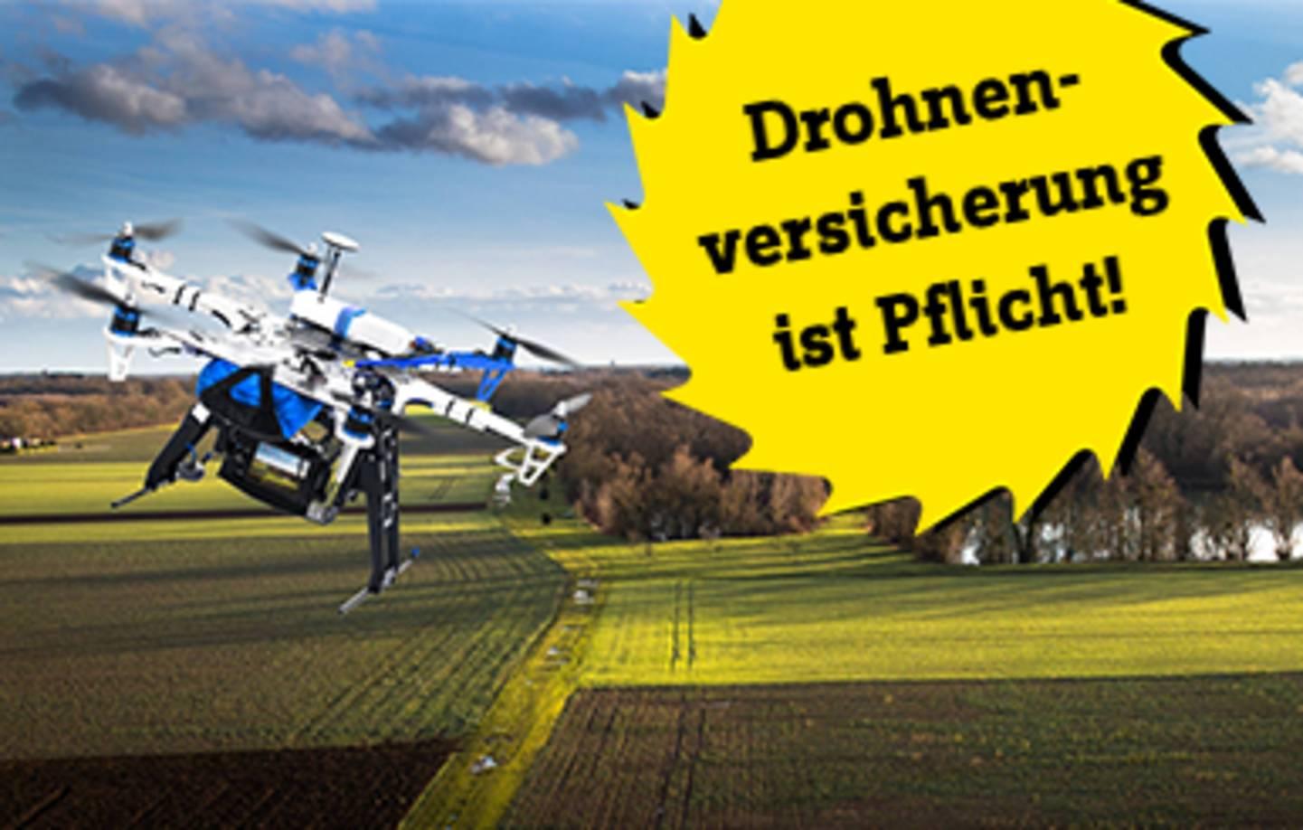 Drohnen-Versicherung