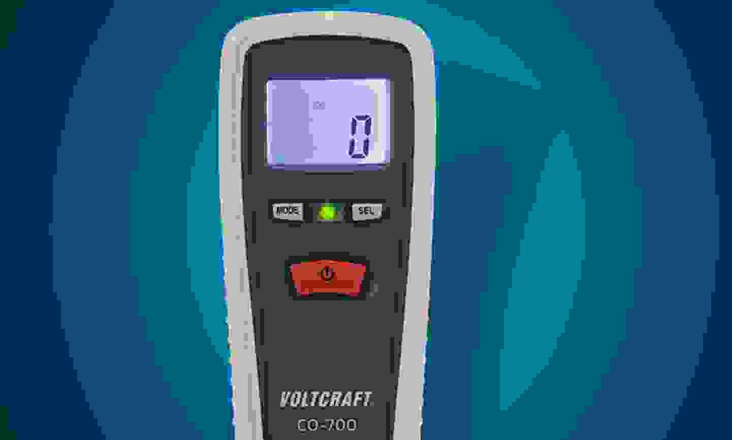 Voltcraft - CO-700 Kohlenmonoxid-Messgerät 0 - 1000 ppm »