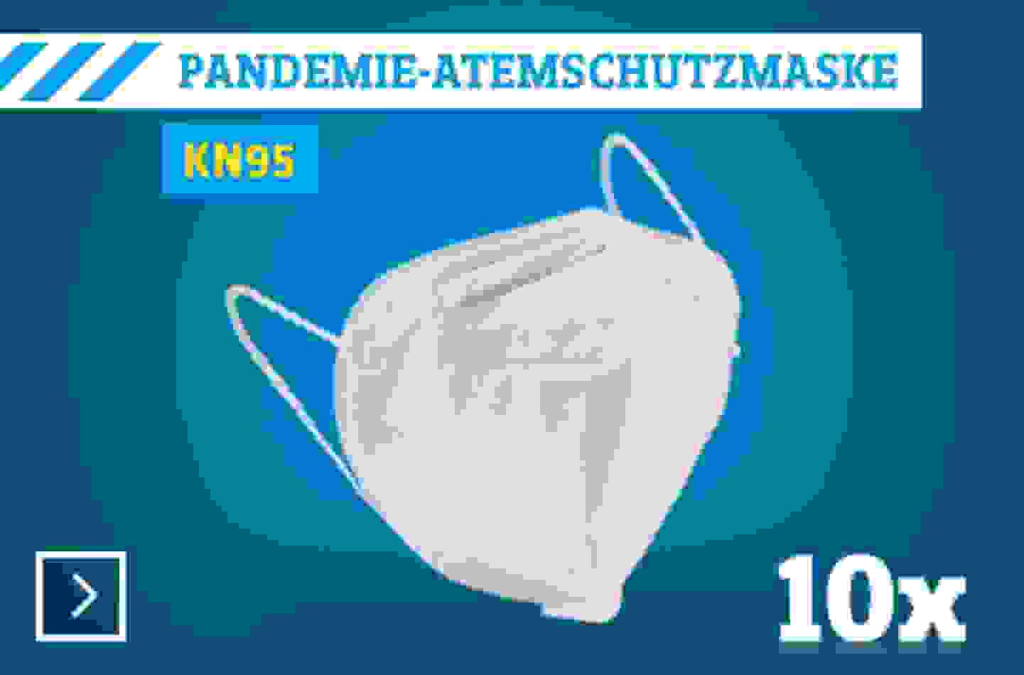 KN 95 Pandemie Atemschutzmaske