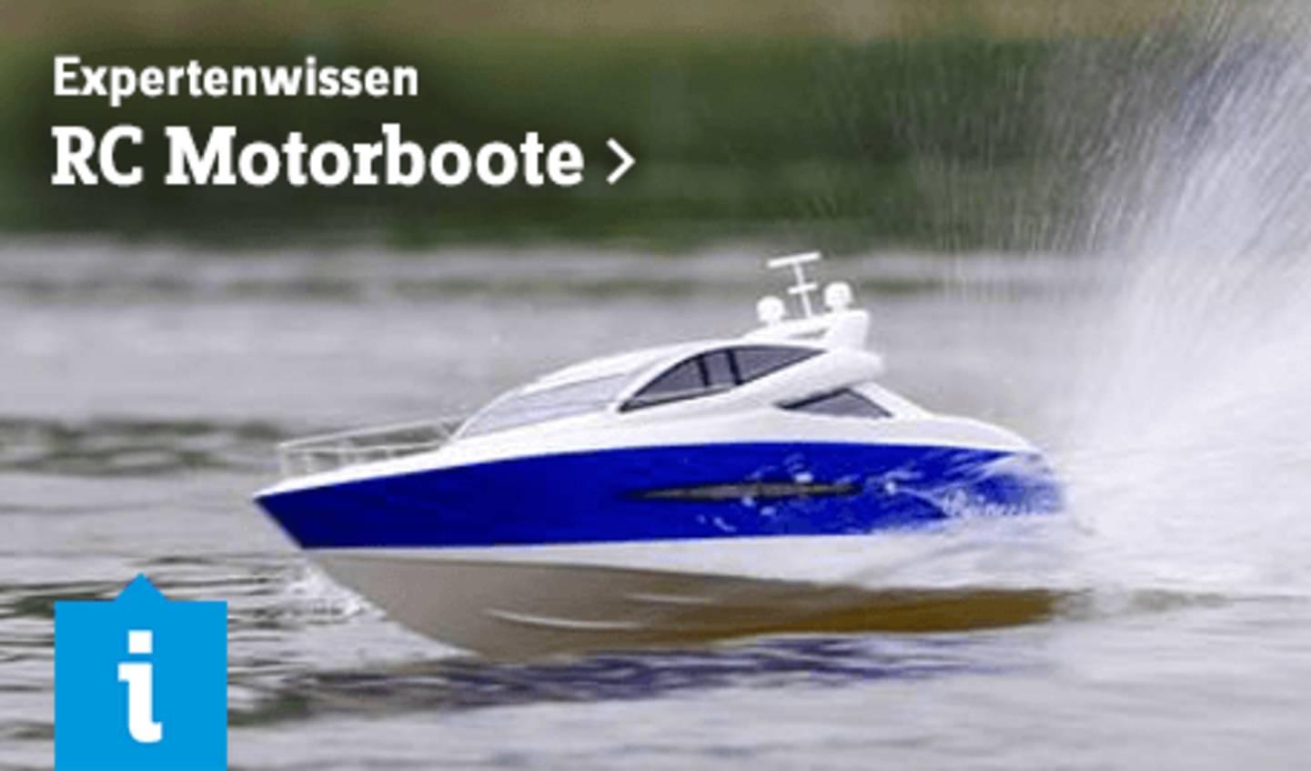 Expertenwissen: RC Motorboote