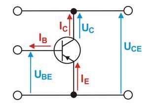 Ströme Spannungen Transistor