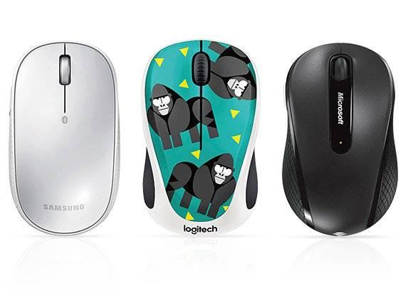 Verschiedene Mäuse
