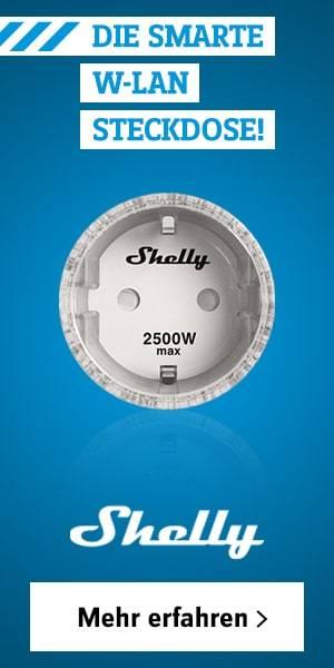 Shelly Wi-Fi Steckdose