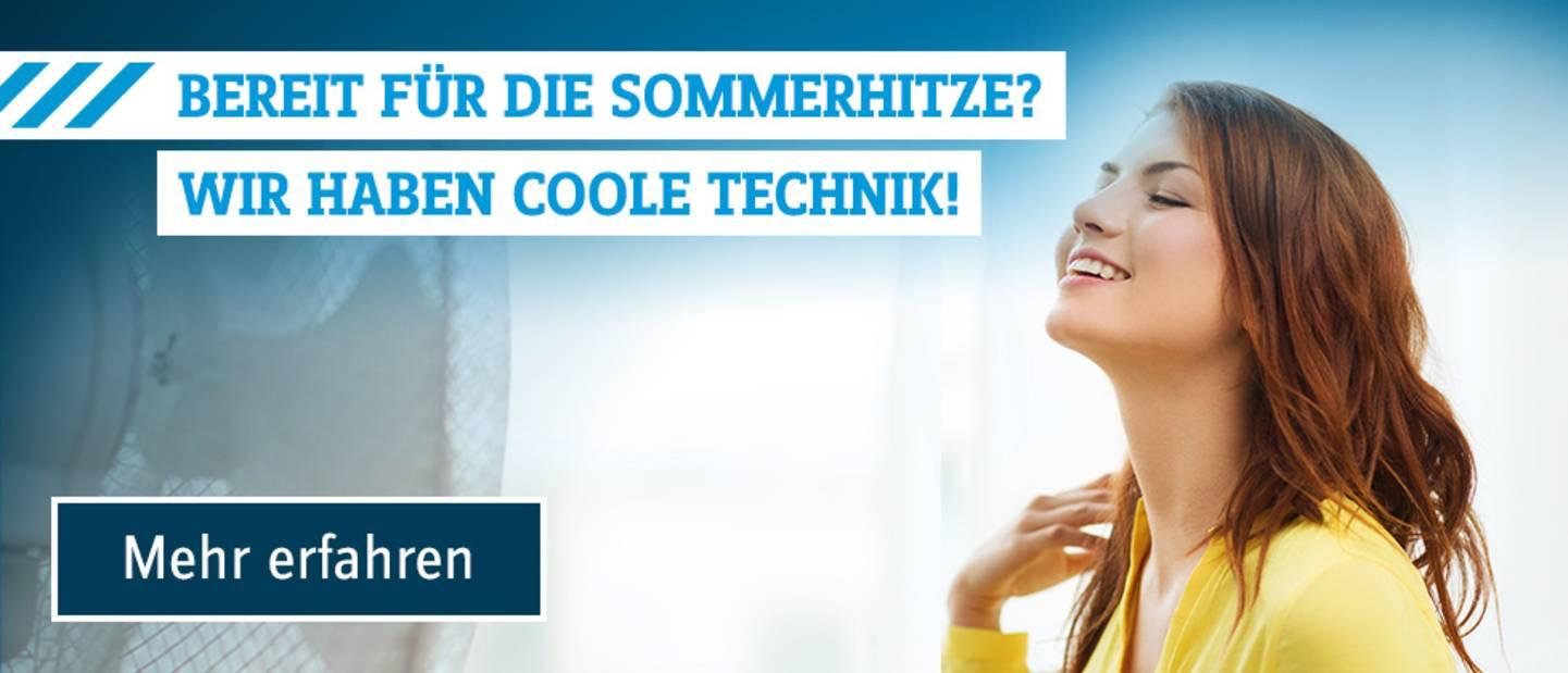 Abkühlung im Sommer - coole Technik und Techniken die abkühlen »
