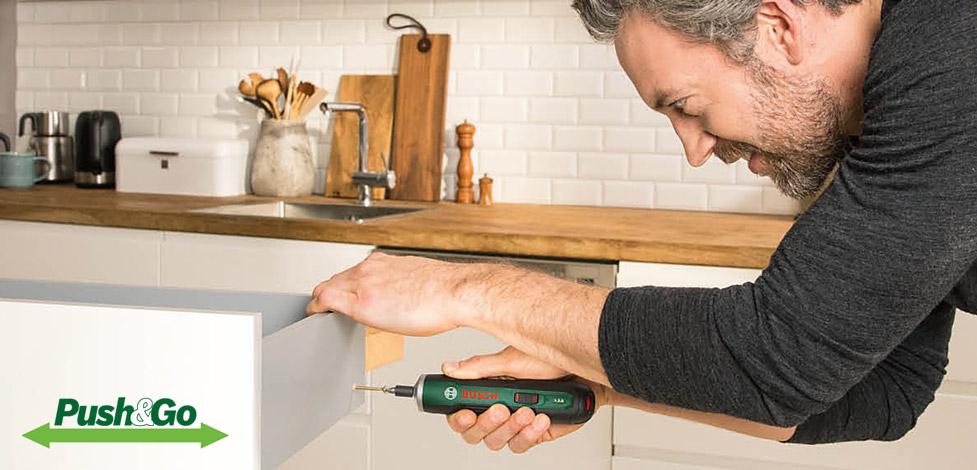 Bosch PushDrive Akku-Schrauber