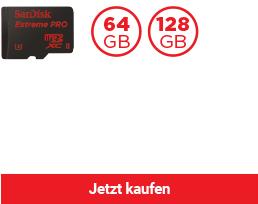 SanDisk Extreme PRO® microSDHC™ / microSDXC™ UHS-II Speicherkarte