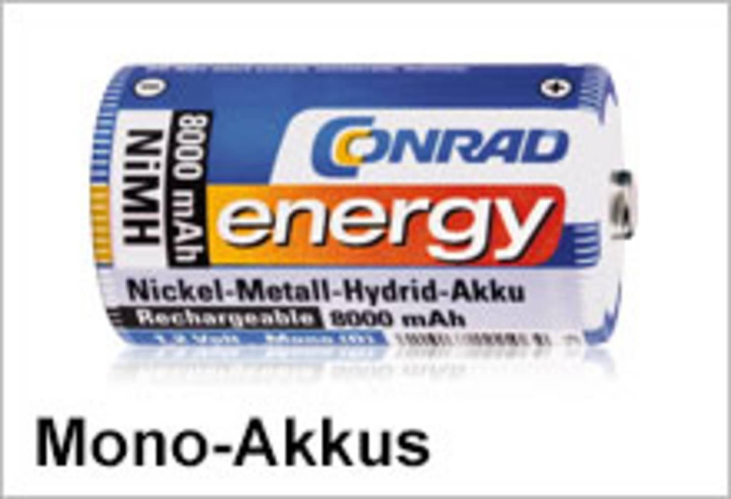 Conrad Energy Mono-Akkus