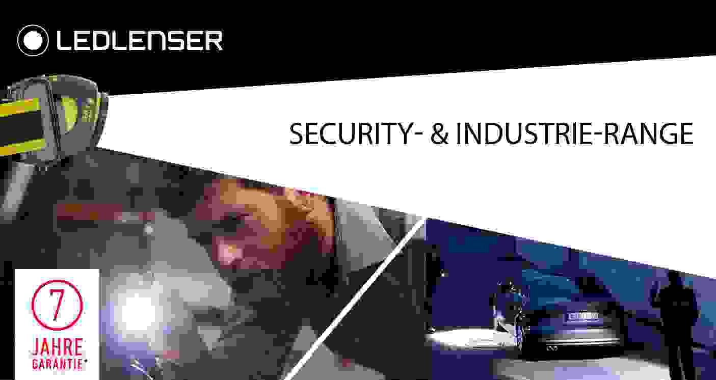 ledlenser Security- & Industrie-Range
