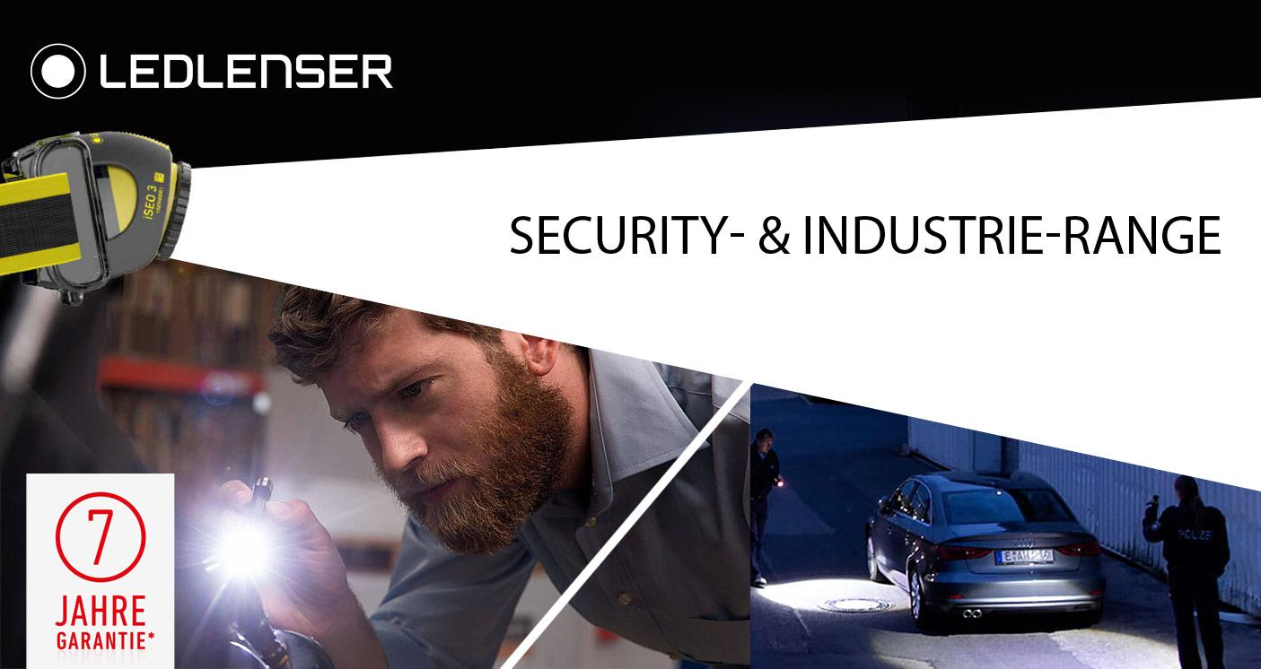 ledlenser Security- & Industrie-Range