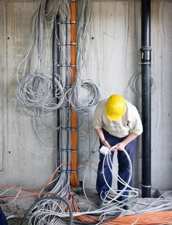 Steckverbinder von Glasfaserkablen