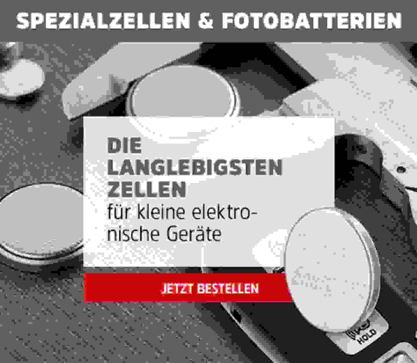 Spezialzellen & Fotobatterien