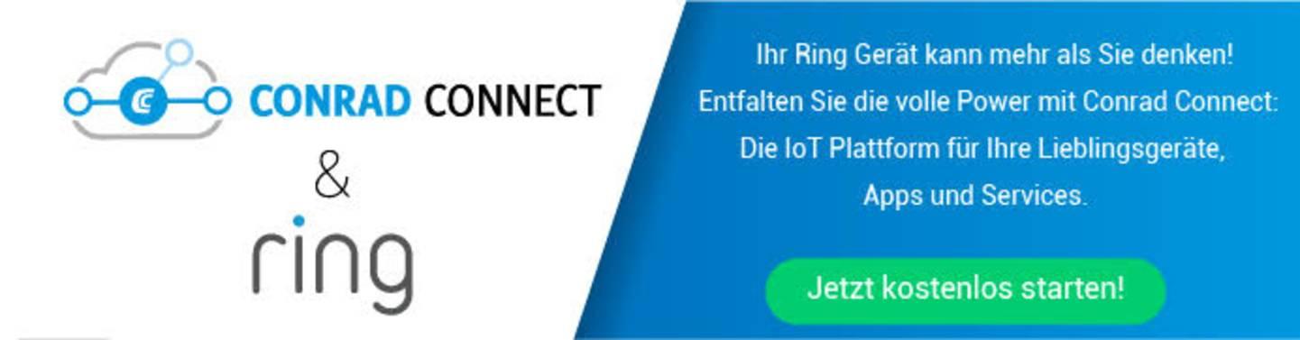 Ring mit Conrad Connect verbinden