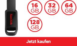 SanDisk® Cruzer Spark™ USB-2.0-Flash-Laufwerk