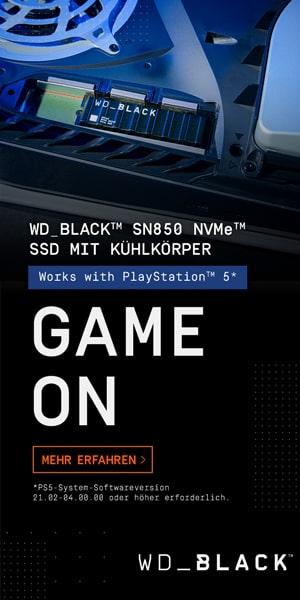 WD Black Interne SSD