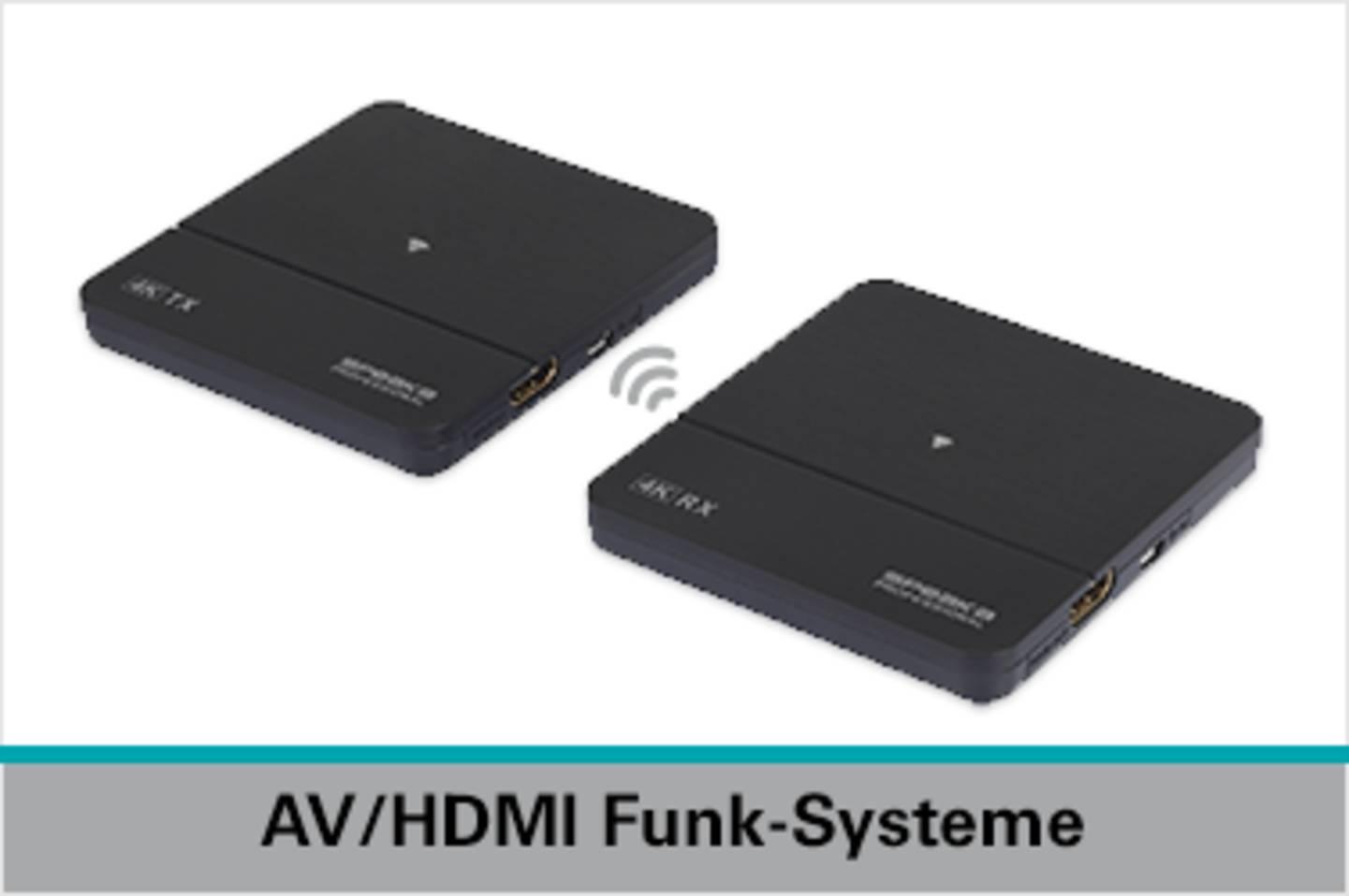 Speaka Professional AV / HDMI Funk-Systeme