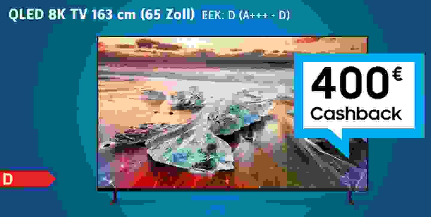 QLED 8K TV 65 Zoll