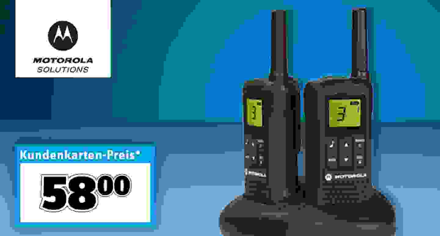 Motorola Solutions - PMR-Handfunkgerät 2er Set »