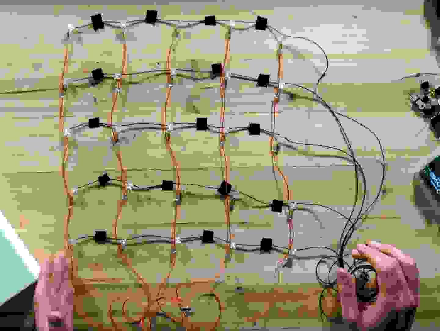 Schritt 4 - LED-Netz