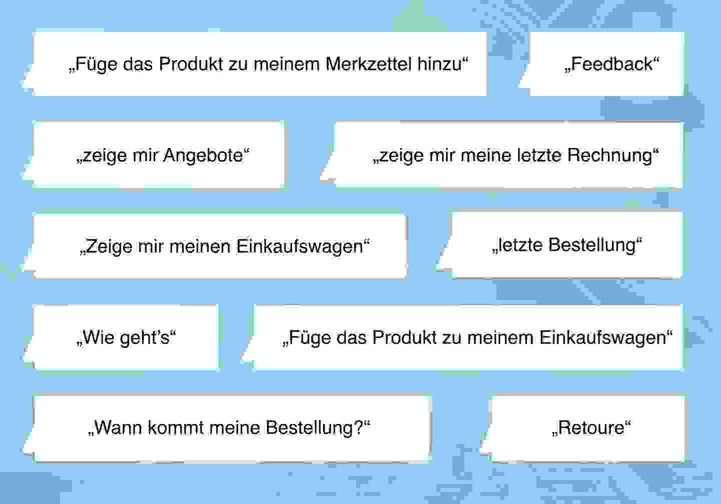 Chatbot Funktionen - August 2019