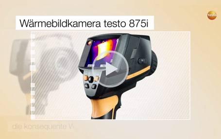 Wärmebildkamera testo 875i: Produktvideo