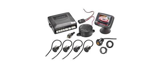 Parking sensors and rear-view camera for retrofitting