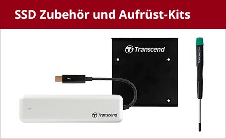 SSD Zubehör und Aufrüst-Kits