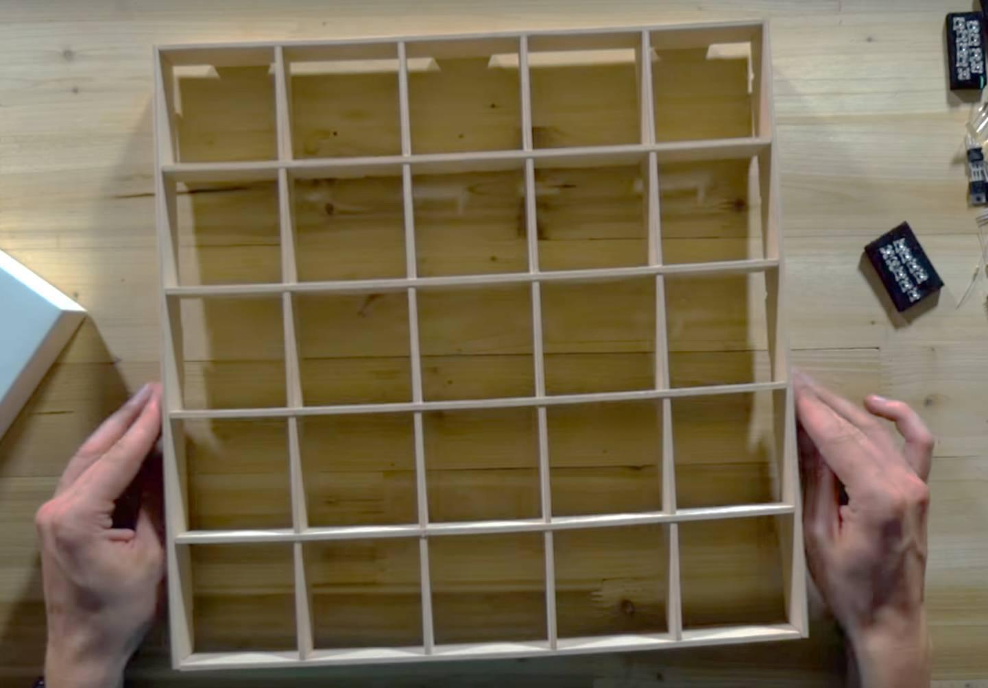 Schritt 3 - Holzkonstruktion