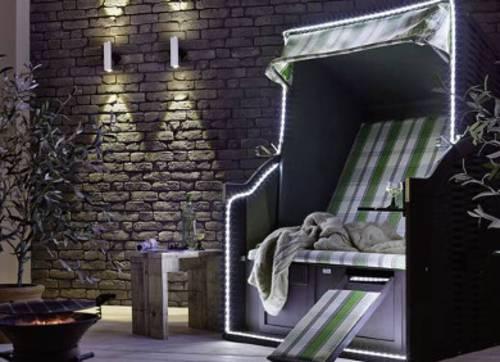 LED-Lichtbänder im Innen- oder Außenbereich