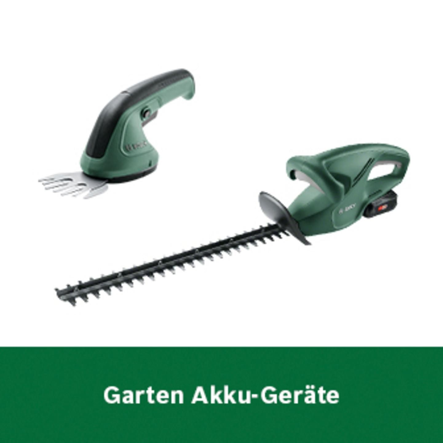 Bosch Garten Akku-Geräte