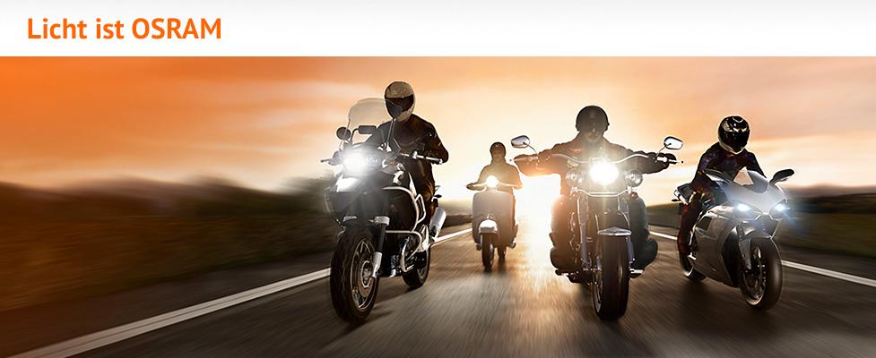 Osram Lampen für Motorrad