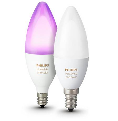 Hue white and color LED-Leuchtmittel