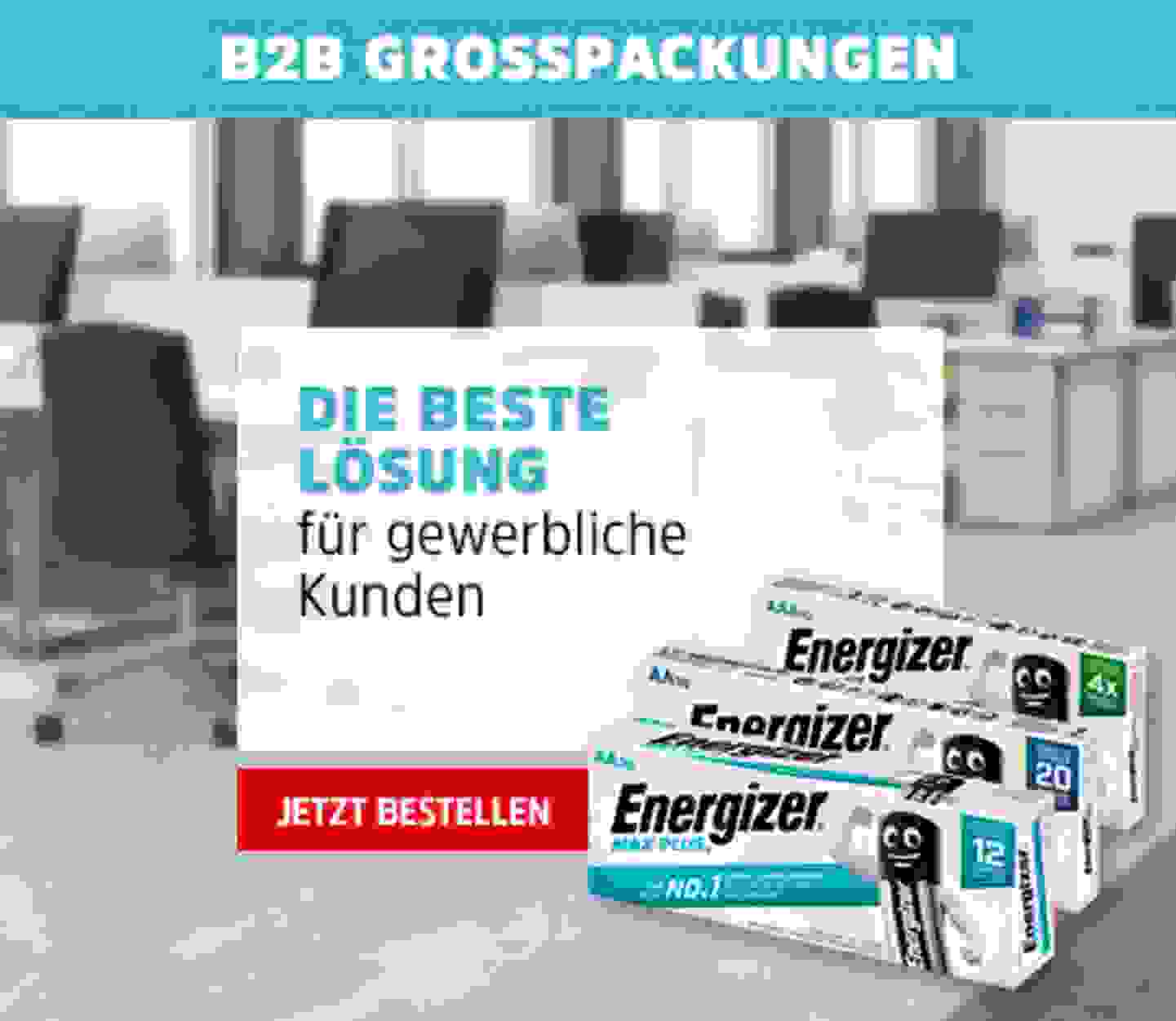 B2B Großpackungen