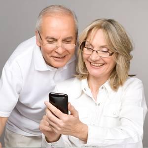 Senior mobiele telefoons