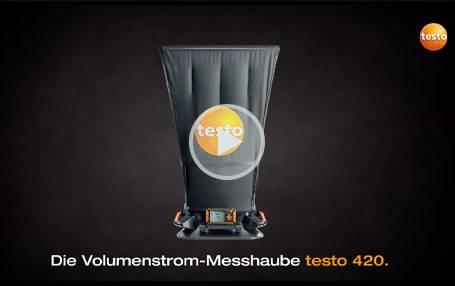 Volumenstrom-Messhaube testo 420: Produktvideo