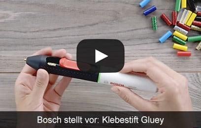 Bosch stellt vor: Klebestift Gluey